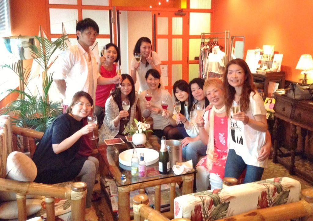 大阪8期生乾杯1
