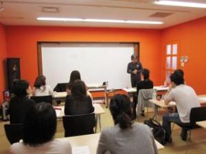 心理学&ヨーガ哲学1日講座の様子①