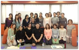 【東京開催】グラヴィティヨガ 解剖学講習開催しました。